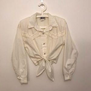 Vintage Western style shirt